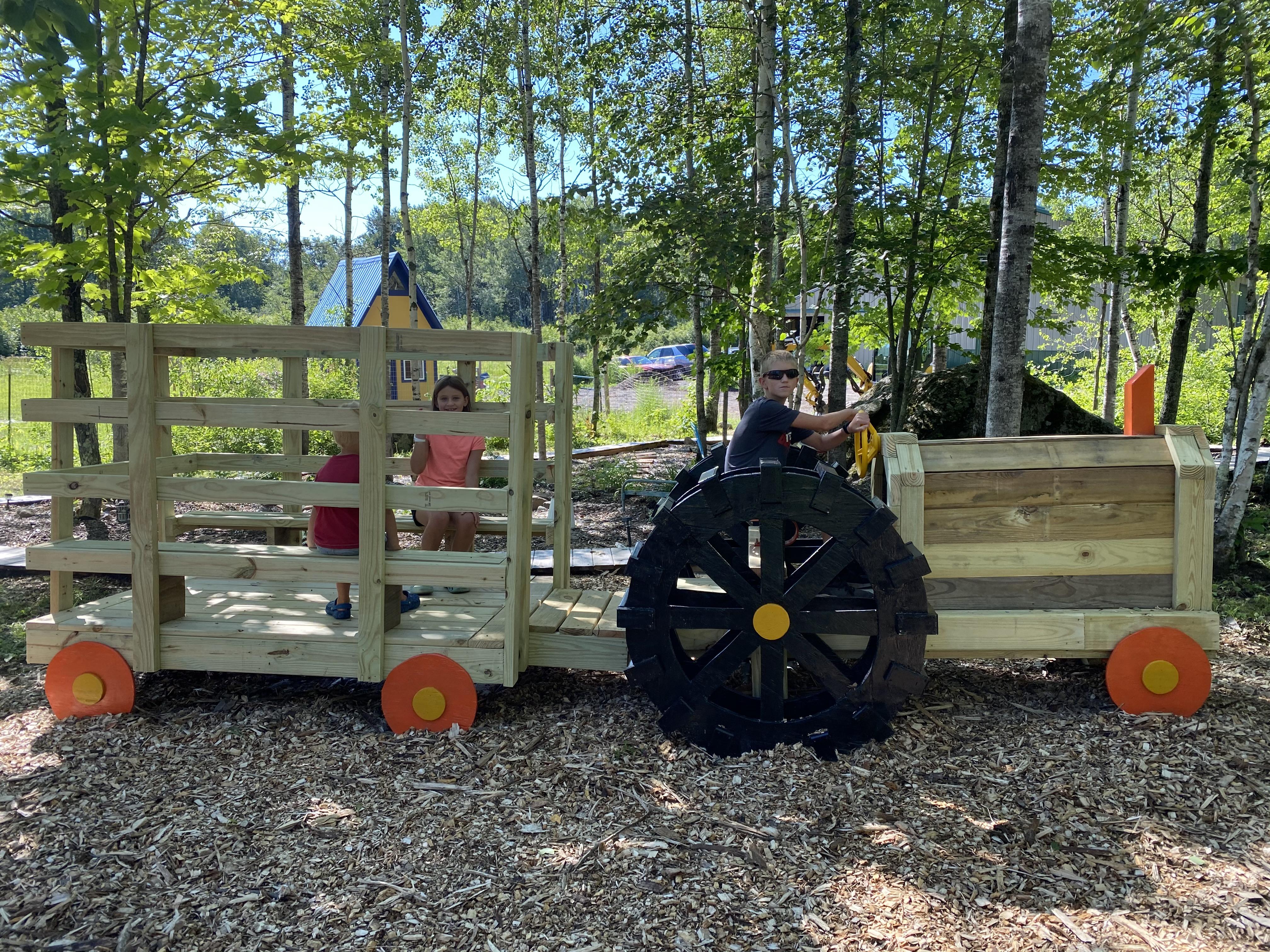 farm tractor playground